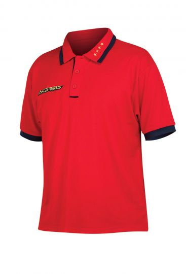 4 STARS POLO - RED