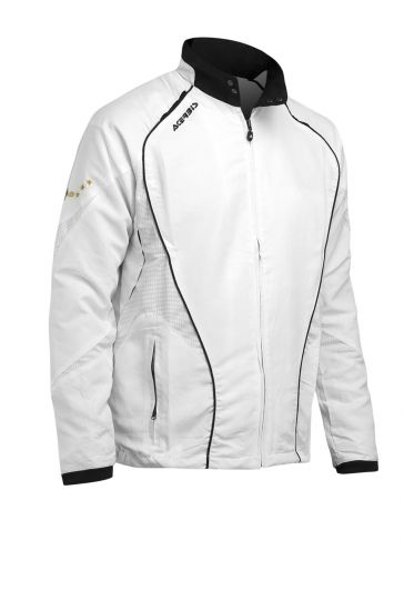 TRACKSUIT JACKET ALNAIR - WHITE/BLACK