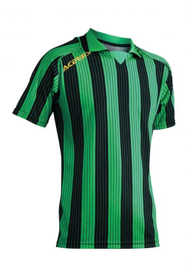 JERSEY VERTICAL SS - GREEN/BLACK