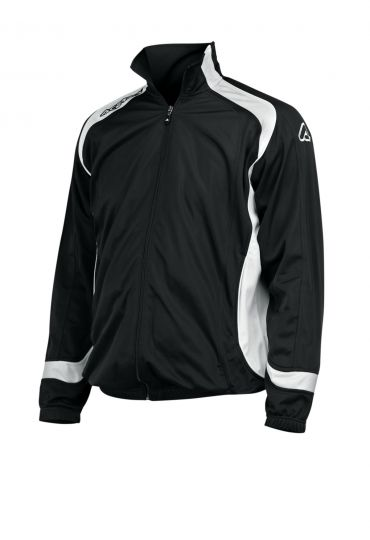 TRACKSUIT JACKET ATLANTIS - BLACK/WHITE