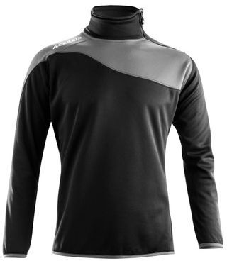 SWEATSHIRT ASTRO 1/2 ZIP BLACK