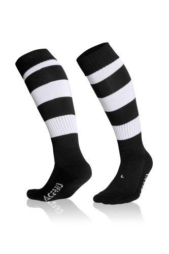 Double Striped Socks Black/ White