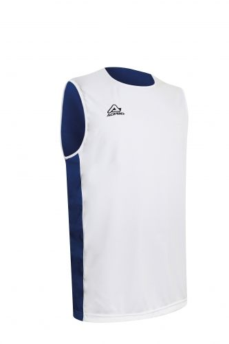Larry Double Singlet White/ Royal