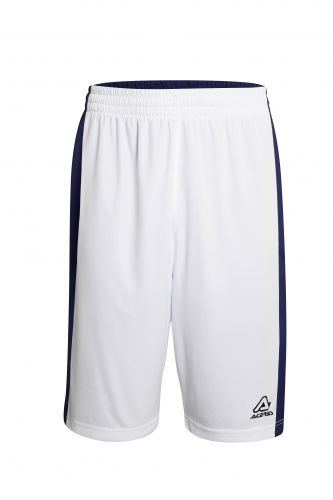 Larry Double Short White/ Blue