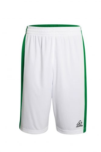 Larry Double Short White/ Green