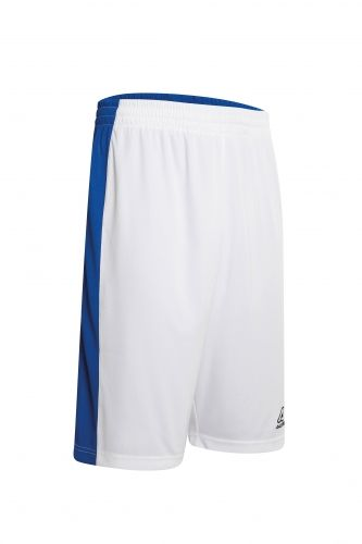Larry Double Short White/ Royal Blue