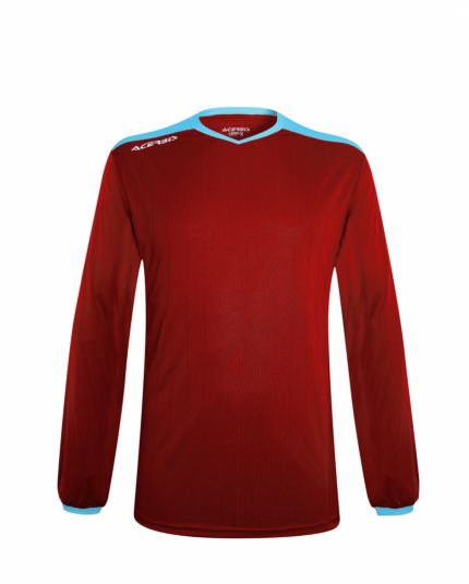 Belatrix Long Sleeve Jersey Bordeaux/ Light Blue