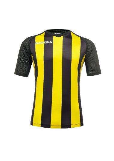 Johan Jersey Short Sleeve Black/Yellow
