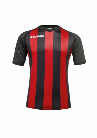 Johan Jersey Short Sleeve Black/Red