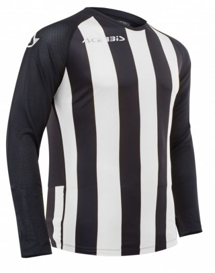 Johan Jersey Long Sleeve Black/White