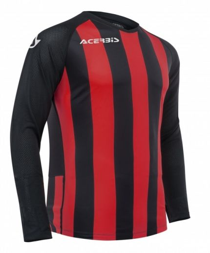 Johan Jersey Long Sleeve Black/Red