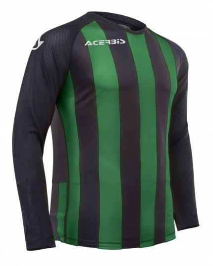 Johan Jersey Long Sleeve Black/Green