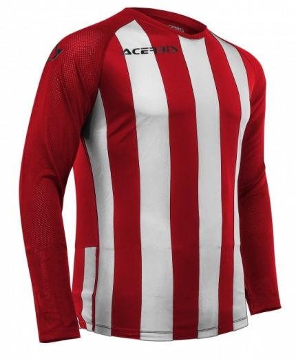 Johan Jersey Long Sleeve Red/White
