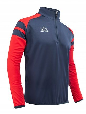 Kemari 1/2 Zip BLUE/RED