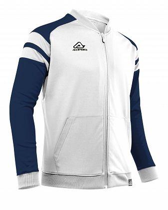 Kemari Tracksuit Jacket WHITE/BLUE