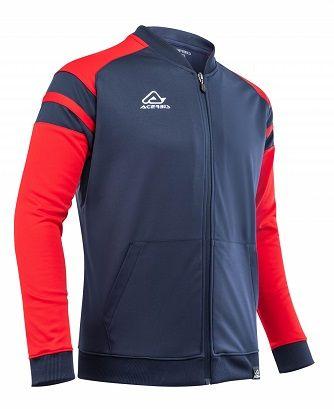 Kemari Tracksuit Jacket BLUE/RED