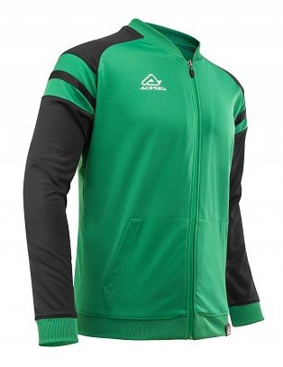 Kemari Tracksuit Jacket GREEN/BLACK