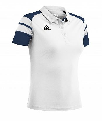 Kemari Woman Polo WHITE/BLUE