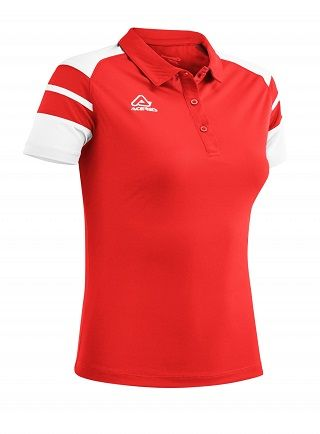 Kemari Woman Polo RED/WHITE