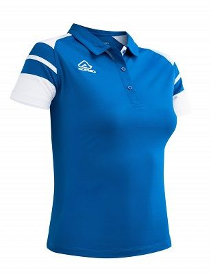 Kemari Woman Polo ROYAL/WHITE