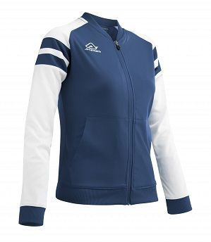 Kemari Woman Tracksuit Jacket BLUE/WHITE