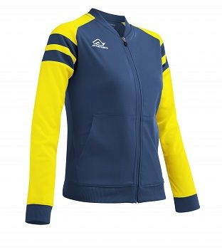 Kemari Woman Tracksuit Jacket BLUE/YELLOW
