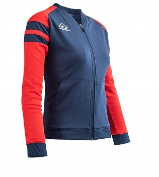 Kemari Woman Tracksuit Jacket BLUE/RED
