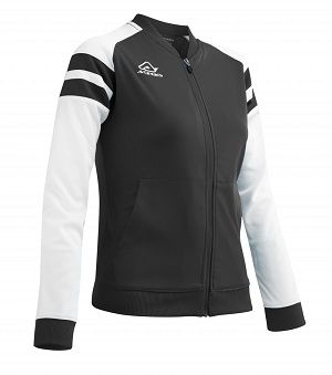 Kemari Woman Tracksuit Jacket BLACK/WHITE