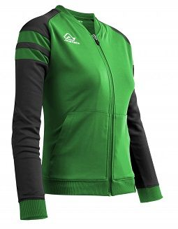 Kemari Woman Tracksuit Jacket GREEN/BLACK