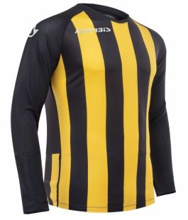 Johan Jersey Long Sleeve Black/Yellow