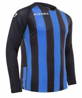 Johan Jersey Long Sleeve Black/Royal Blue