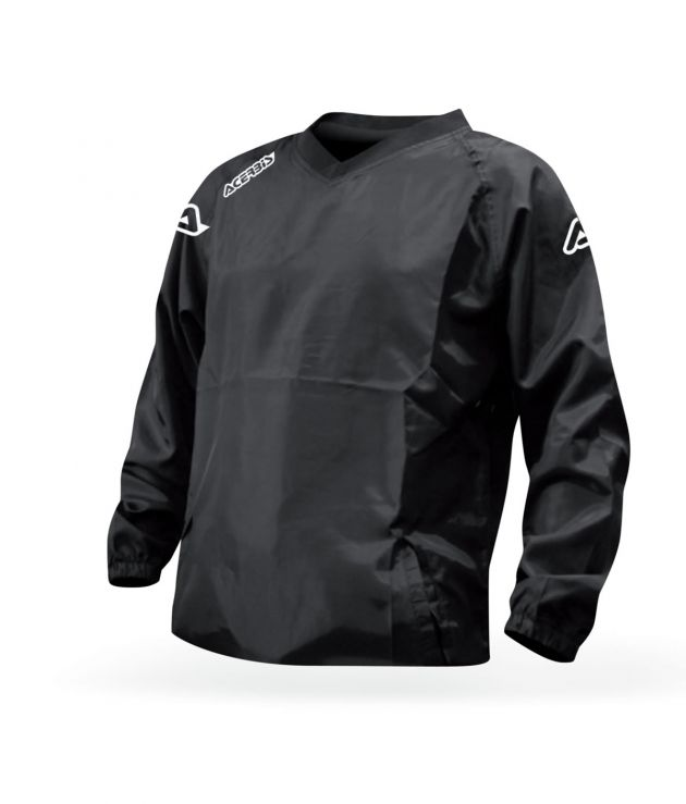 RAIN JACKET ATLANTIS - BLACK