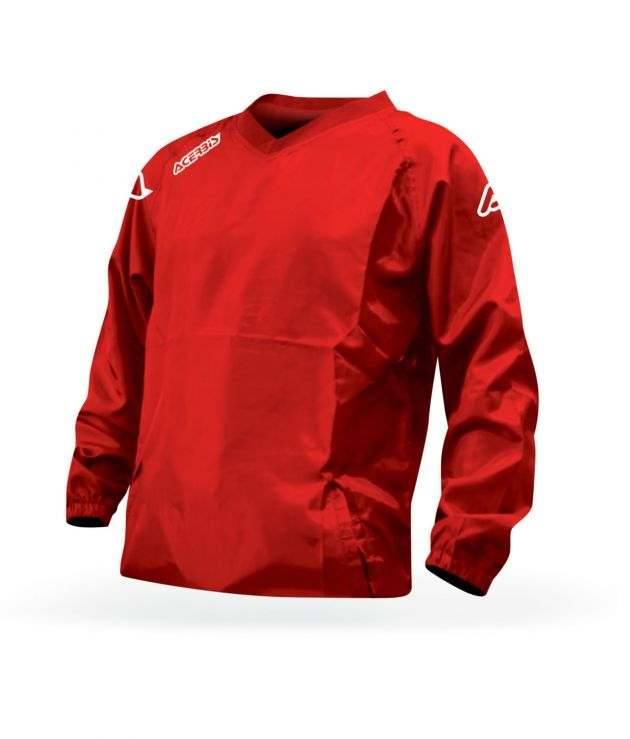 RAIN JACKET ATLANTIS - RED