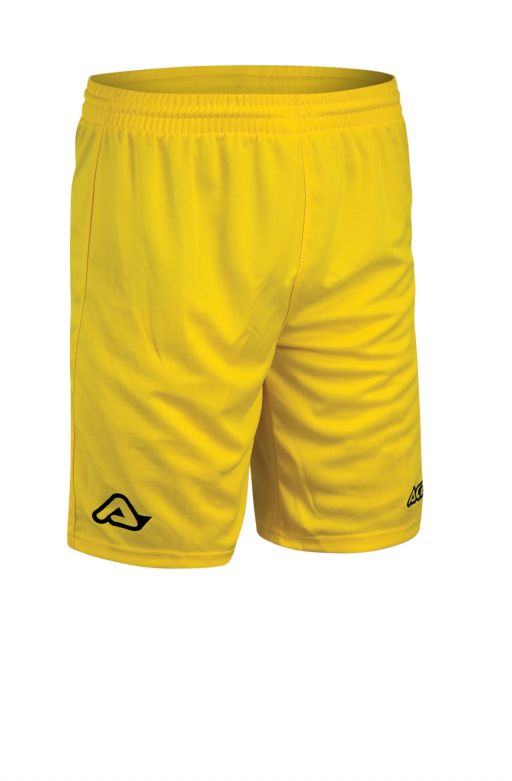 SHORT TRAINING ATLANTIS LOGO - YELLOW
