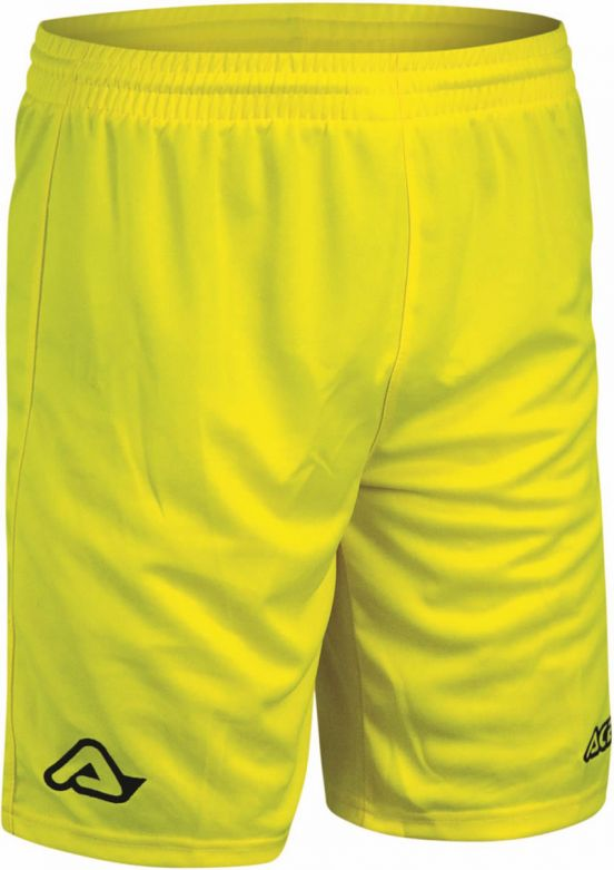 SHORT TRAINING ATLANTIS LOGO YELLOW FLUO