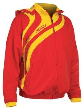 ALKMAN TRACKSUIT - RED/YELLOW