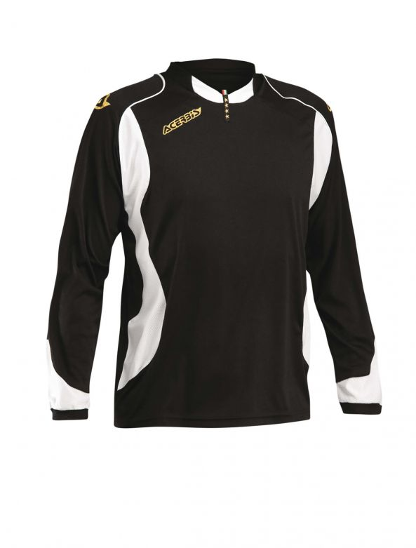 JERSEY 4 STARS LONG SLEEVE - BLACK