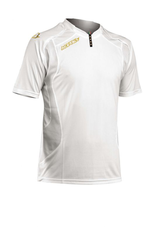 JERSEY 4 STARS SHORT SLEEVE - WHITE