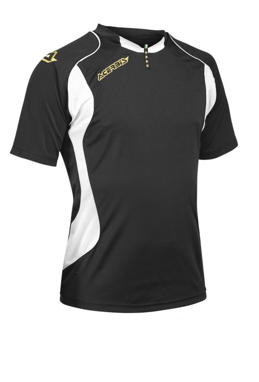 JERSEY 4 STARS SHORT SLEEVE - BLACK