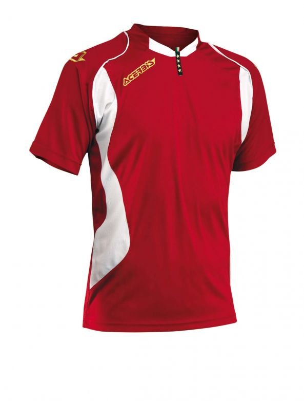 JERSEY 4 STARS SHORT SLEEVE - RED2