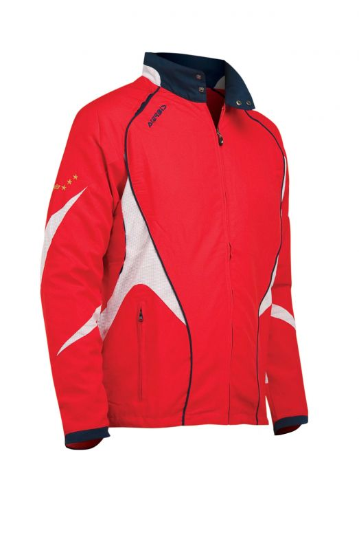 TRACKSUIT JACKET ALNAIR - RED