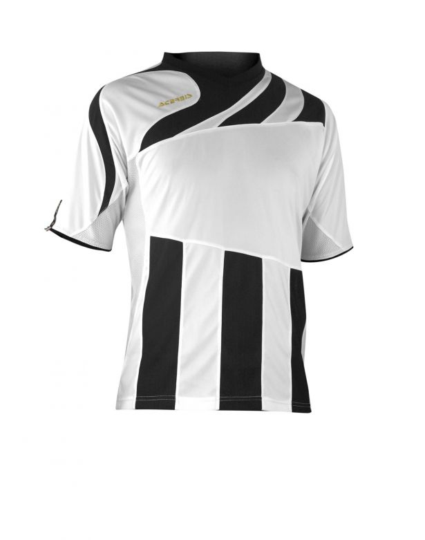 MIRA JERSEY SHORT SLEEVE - WHITE/BLACK