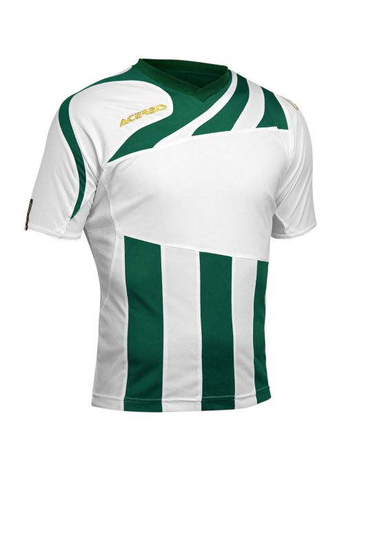 MIRA JERSEY SHORT SLEEVE - WHITE/GREEN