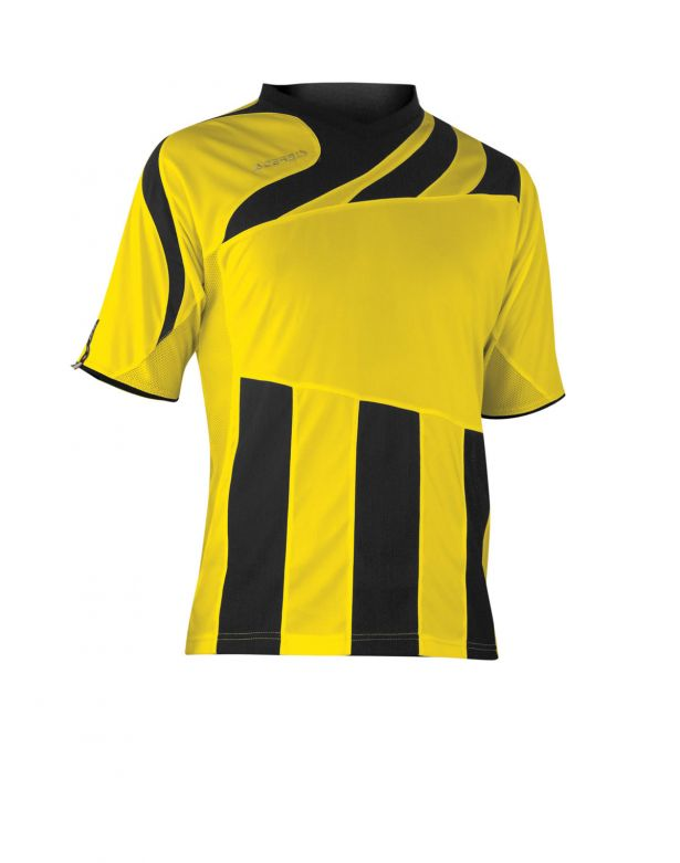 MIRA JERSEY SHORT SLEEVE - BLACK/YELLOW