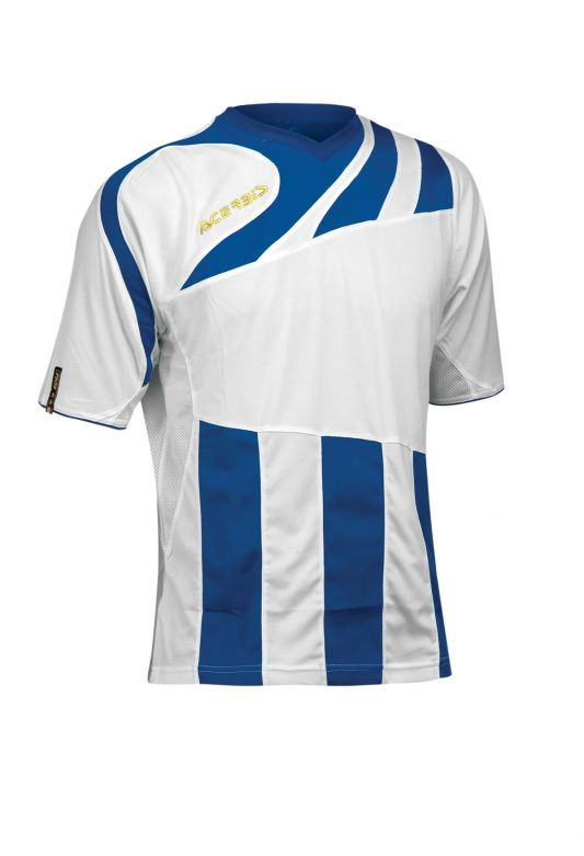 MIRA JERSEY SHORT SLEEVE - WHITE/ROYAL