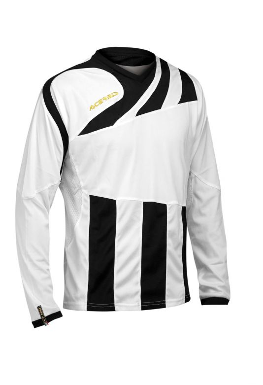 MIRA JERSEY LONG SLEEVE - WHITE/BLACK