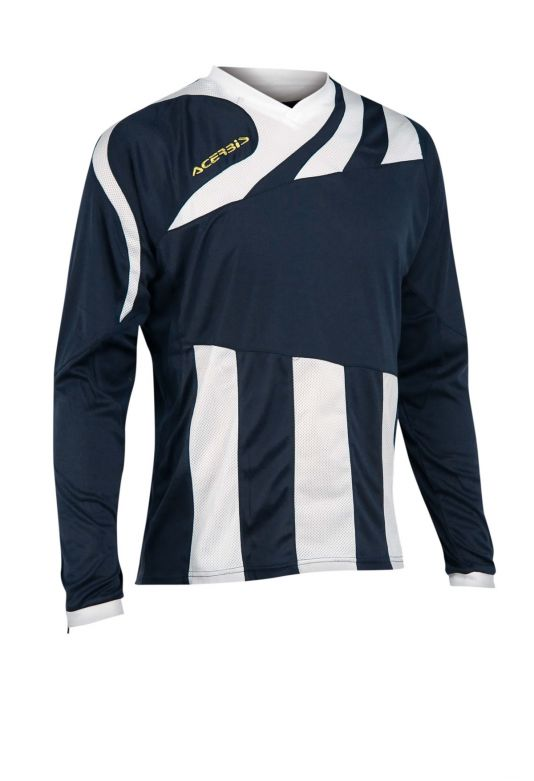MIRA JERSEY LONG SLEEVE - BLUE/WHITE
