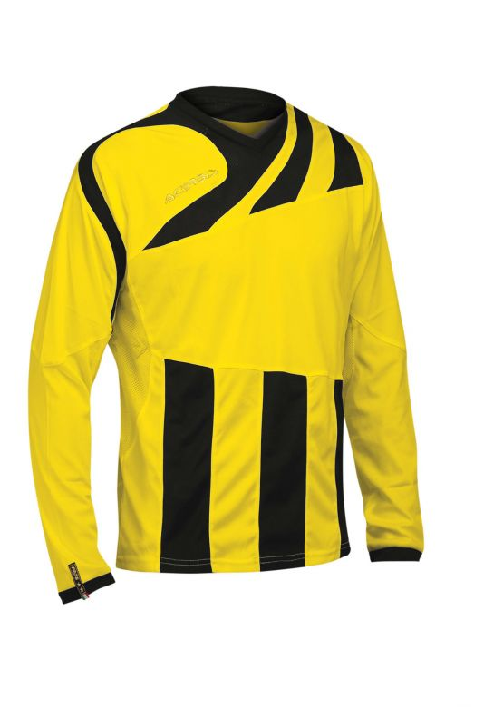 MIRA JERSEY LONG SLEEVE - BLACK/YELLOW