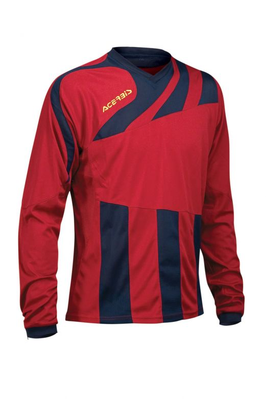 MIRA JERSEY LONG SLEEVE - RED2/BLUE