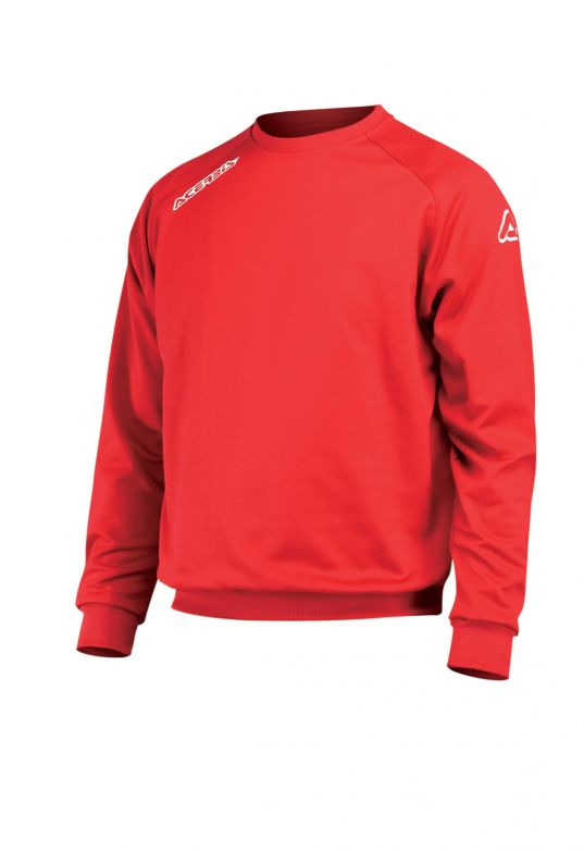 ATLANTIS SWEATSHIRT CREW-NECK - RED